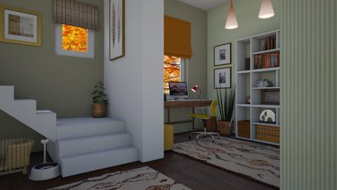 Autumn office - Office - by Tuitsi