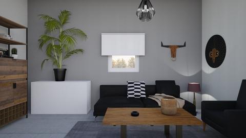 1011 3 - Living room - by Riki Bahar Elbaz
