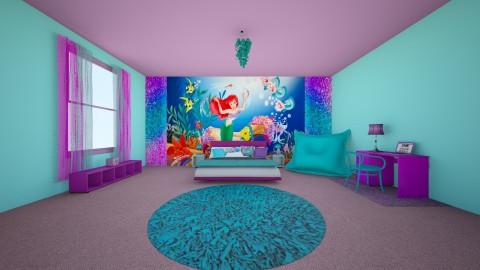 Mermaid Bedroom - Classic - Kids room - by creato