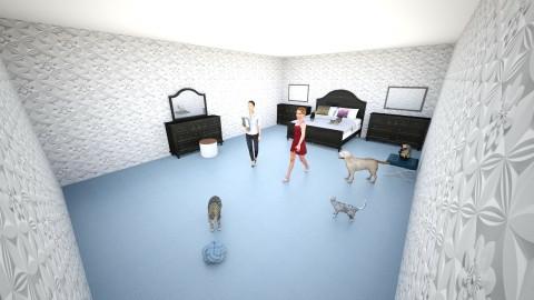 Ali y Yo UuUr - Bedroom - by kakavege