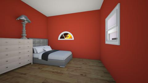 El cuarto de huespedes - Modern - Bedroom - by AzulBlue