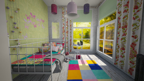 bright sunrise - Eclectic - Bedroom - by donella