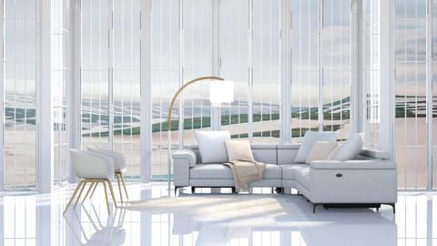 White as Snow - Modern - Living room - by millerfam