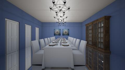Mirror room - Dining room - by natliner