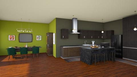416 - Kitchen - by Jade Autumn