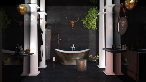copper in black - by barnigondi