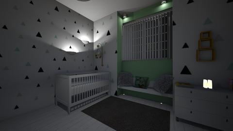 baby 1 - Kids room - by chaimae saidoun