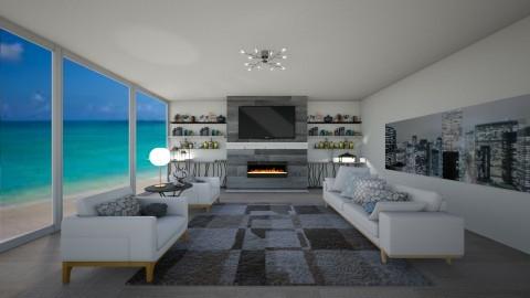 living room - Modern - Living room - by Rachael Mitai
