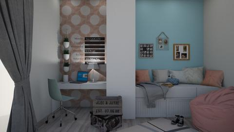 PASTEL - Bedroom - by sillvie