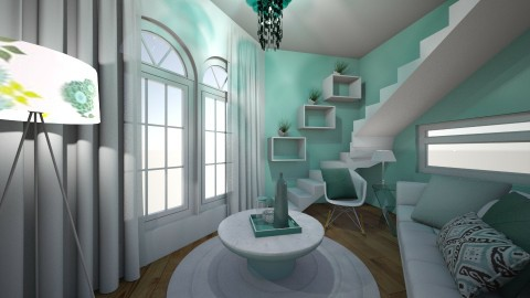 Fresh Blend - Modern - Living room - by XiraFizade