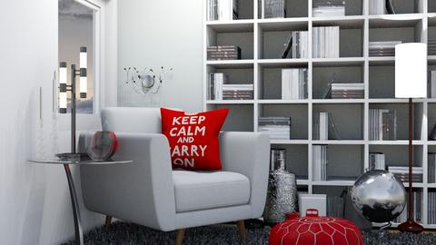 Keep Calm - Modern - Living room - by Isaacarchitect