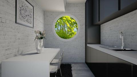 NakagiCapsuleRoom005 - Modern - Kitchen - by Ivana J