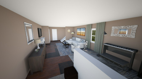 Main Floor of Townhouse - Modern - by dredre1030