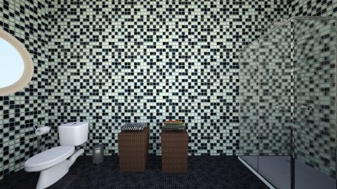simple bathroom - Modern - Bathroom - by Jo Oliveira