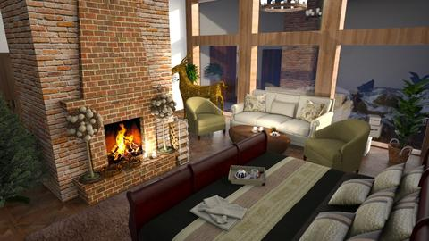 Winter_Bedroom - Bedroom - by ZuzanaDesign