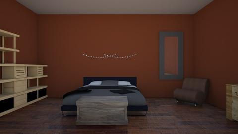 room - Rustic - Bedroom - by ambermflynn