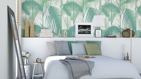 Leaf Design - Bedroom - by marleinxs