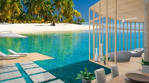 Tropical Beach House - by Vita17