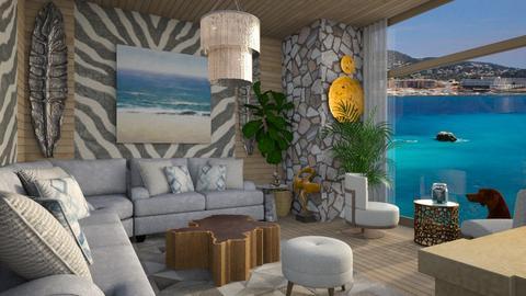 zebra - Living room - by yulamalina