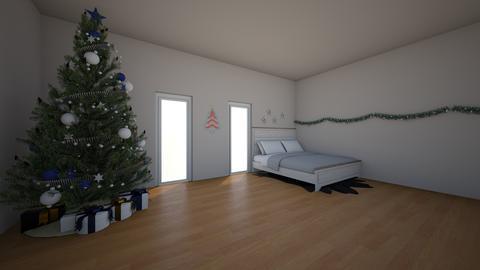 christmas  - Bedroom - by laurenluka