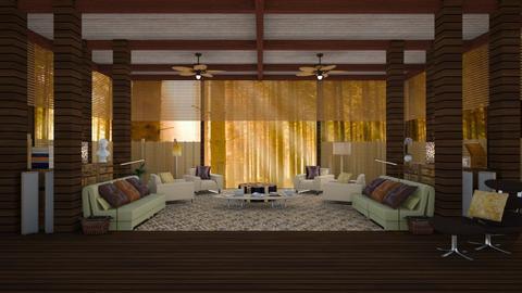 Felipe Bardem - Country - Living room - by Elena68