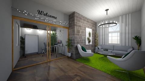 urban jungle office - Office - by Mackenzie Kem