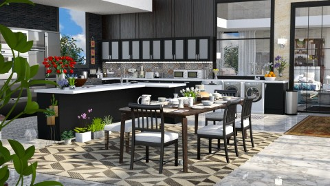 Jaya warehouse kitchen HD - Modern - Kitchen - by anchajaya