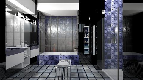 Dark bath - Bathroom - by Lizzy0715