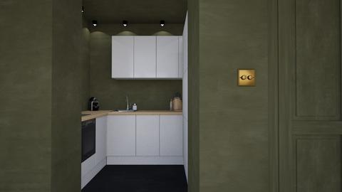 Mini Minimalist kitchen - Minimal - Kitchen - by HenkRetro1960