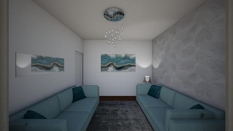 Levett Gardens A1 - Living room - by JLStratford
