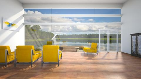 yellow - Living room - by Phospective