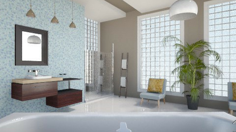Family Bathroom - Modern - Bathroom - by Milagros Rossi Martino