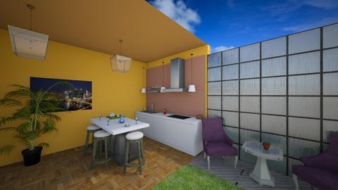cozinha - Kitchen - by HannaTOTE