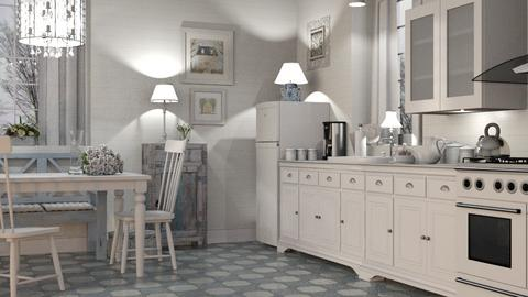 Shabby Chic Kitchen - Kitchen - by GraceKathryn