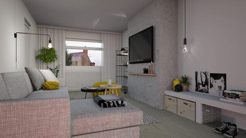 yellow spots - Modern - Living room - by neta1