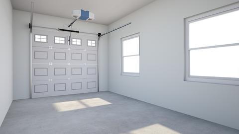 1 Car Garage Template - by rogue_d1735fb166e39e931172ea9932553