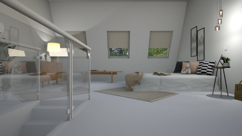 bedroom for Billy - by barnigondi