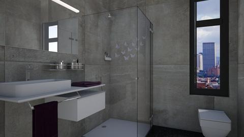 MiniBathRoom - Bathroom - by Nard8A