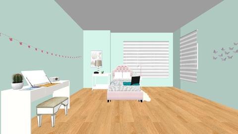 my old Denver home  - Vintage - Bedroom - by luna stone