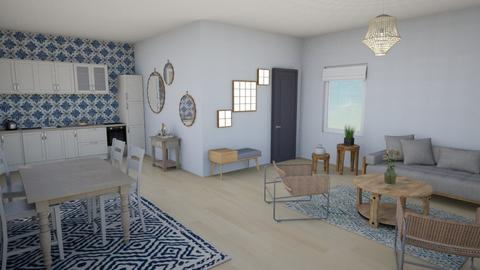 open plan - Living room - by rachelgowdy2013