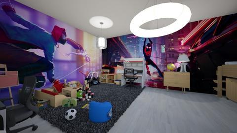 Kid s Room  - Masculine - Kids room - by Art3miys