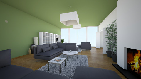 Trends en Stijlen 4 - Living room - by WhitneyRomana