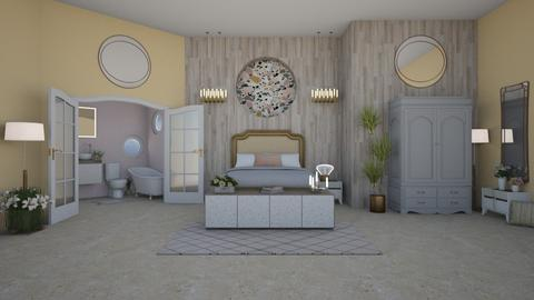 IP Terrazzo - Feminine - Bedroom - by laurenpoisner
