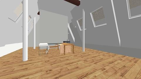 Corp attic - Office - by Emmaxgo