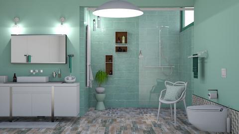 M_Green_2 - Bathroom - by milyca8