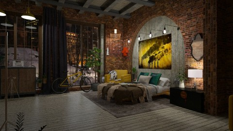 _Remix_ Warehouse Bed - by DMLights-user-1535782