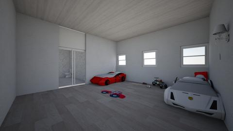 KIds Car room design - Classic - Kids room - by Elios3