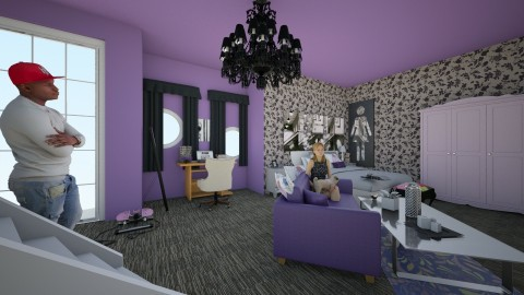 life in purple - Modern - Bedroom - by jessie mckals