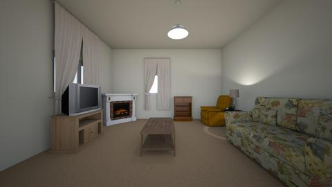 Small apartment LR - Living room - by WestVirginiaRebel