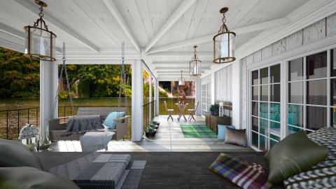 Porch - Garden - by La Ponno